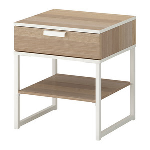 [IKEA] TRYSIL Bedside table 사이드 테이블 (오크) 403.717.58